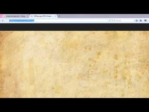 HTML Basics: Adding Background Image to Text