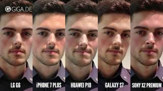 Huawei P10, LG G6, Sony Xperia XZ Premium, iPhone 7 Plus, Samsung Galaxy S7: Kamera-Vergleich
