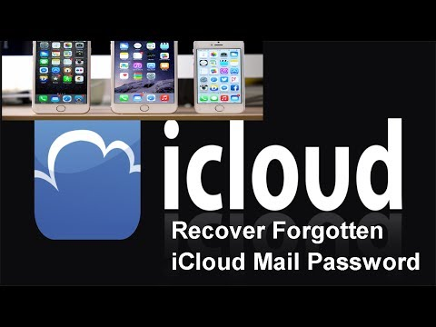 Recover Forgotten iCloud Mail Password   Forgot iCloud Password and Cannot Access Email