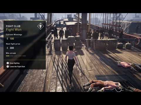 assassin's creed syndicate fight club gameplay
