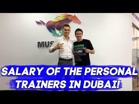 Jobs in Dubai: Salary of the personal trainers in Dubai!
