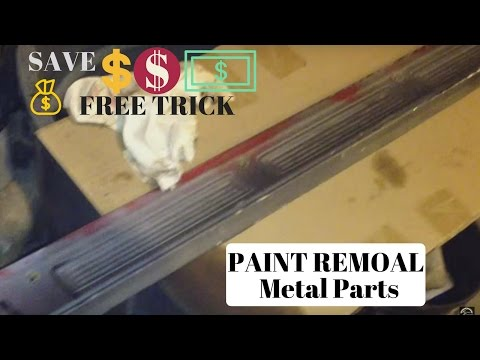 Paint Removal Off Metal Parts For FREE!