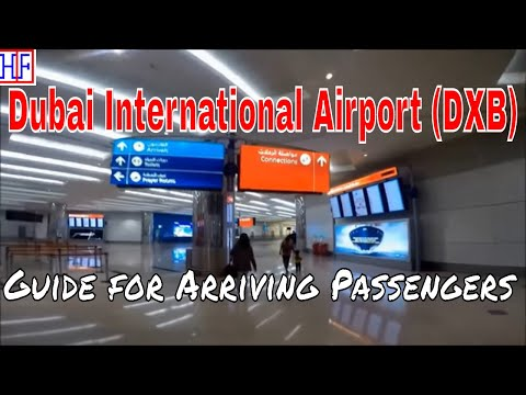 Dubai International Airport (DXB) – Arrivals and Ground Transportation Guide | Travel Guide | Ep#1