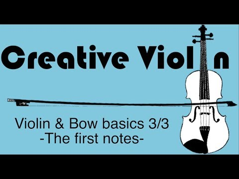 How to Play First Notes on Violin - Beginner Violin Basics 3/3