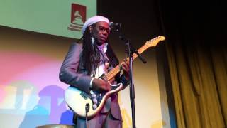 Nile Rodgers Tells the Story of David Bowie