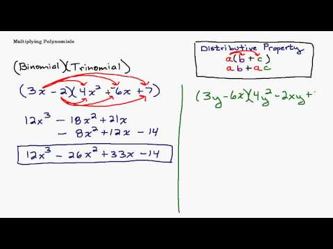 Multiplying a Binomial and a Trinomial