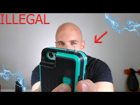 This phone case is ILLEGAL...