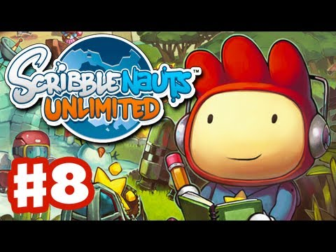 Scribblenauts Unlimited - Gameplay Walkthrough Part 8 - Full Stop Diner (PC, Wii U, 3DS)