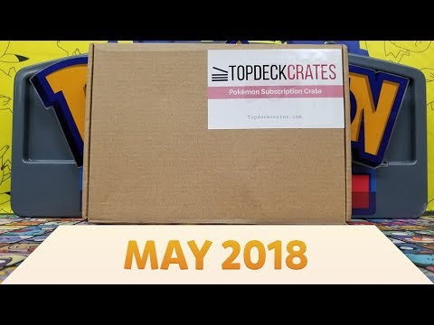 Pokemon Top Deck Crate Opening and Review | Ecruteak City! [May 2018]