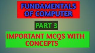 Download STET computer science 2019 !! Chapter 1 !! *Part 3* Video