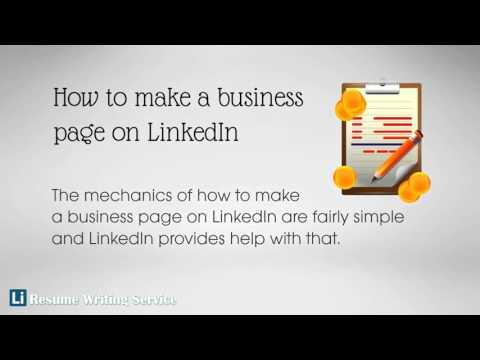 How To Make A Business Page On LinkedIn