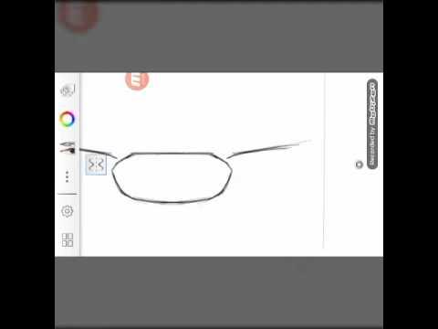 A Mercedes Benz Design Rendering (sketchbook pro)