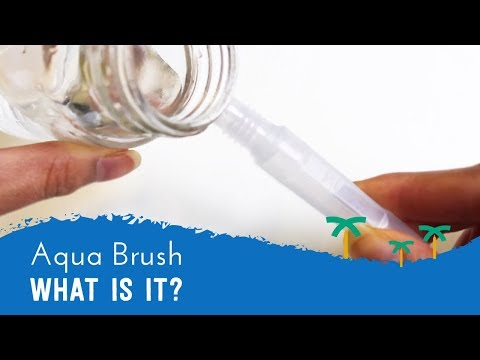 What's an Aqua Brush? - How to use a Water Brush Pen | Stationery Island