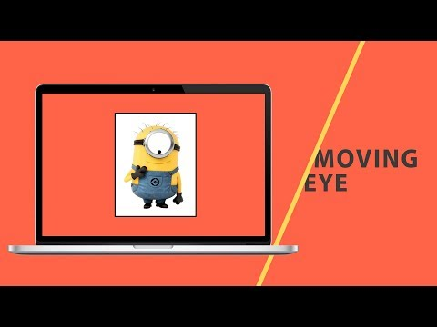 Moving Eye | CSS - JavaScript Tutorial