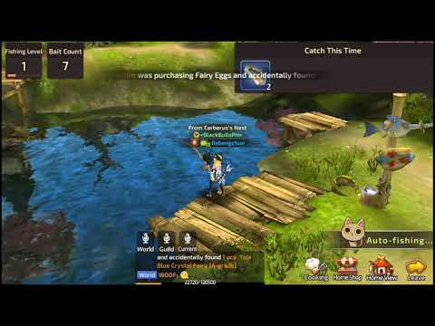 Dragon Nest Mobile Acrobat Fishing Time