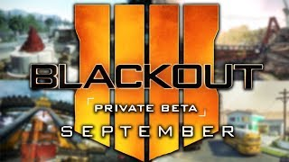 Black Ops 4 Battle Royale Beta Coming Soon! (blackout Beta)