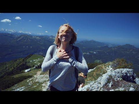 Hiking down an Austrian mountain (#125 Part 1)