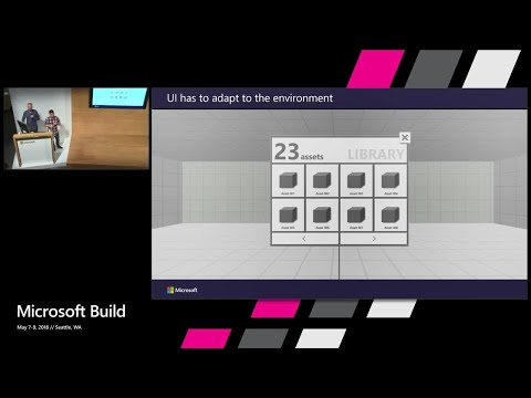 Building applications at warehouse scale for HoloLens : Build 2018