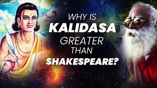 Story Of Kalidasa: Who Still Is Greater Than Shakespeare   Ramanujan   Blackholes   Sadhguru Adiyogi