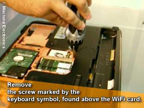 Replacing an HP Pavilion DV7 Keyboard