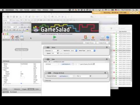 Game Salad Tutorial: Simple Random Beat Requencer