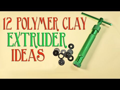 Twelve Ways To Use Your Polymer Clay Extruder