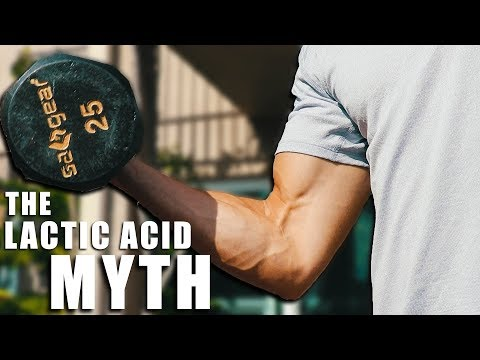 Lactic Acid Does NOT Cause Soreness