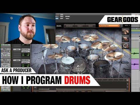 How I Program Drums - ASK A PRODUCER | GEAR GODS