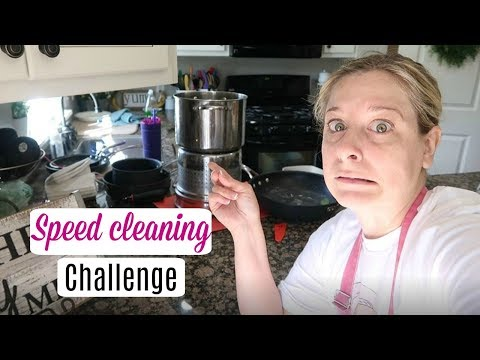 Speed Cleaning /30 Minute Challenge