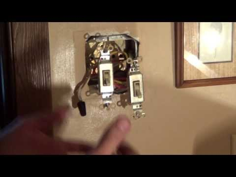 How to Wire a Double Switch - Light Switch Wiring - Conduit