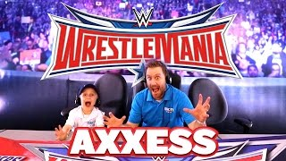 WWE WrestleMania Axxess at WrestleMania 32 with WWE Toys, NXT Match and WWE 2k16 Game by KidCity
