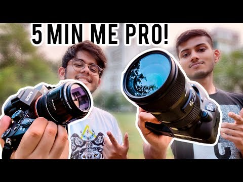 How to Use a DSLR Camera   Beginners Guide in Hindi ! ft Angad Kahai Singh