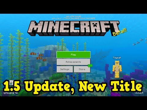 The Best Change Yet! - NEW Minecraft 1.5 Beta (Aquatic Update)