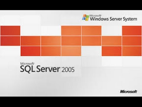 how to install sql 2005 on win 8 , win 10 and above
