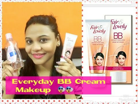 BEST EVERYDAY MAKEUP TRICK ! How to Apply  Fair & Lovely BB Cream | Review & Demo