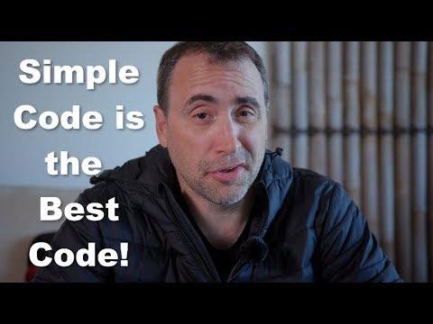 Simple Code is the Best Code