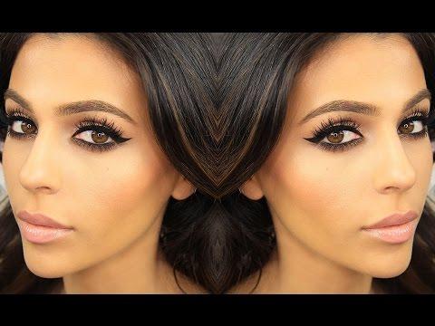 Smokey Eye Makeup + Winged Eyeliner | Eye Makeup Tutorial | Teni Panosian