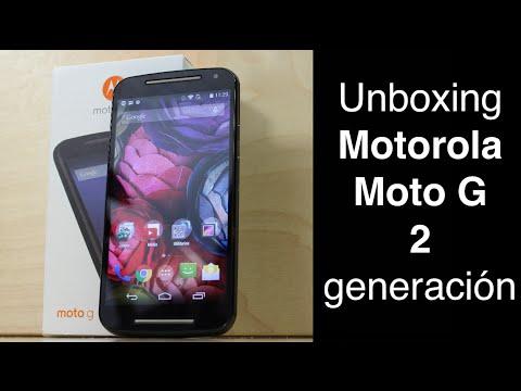 Unboxing Motorola Moto G 2 Generación - Primeras Impresiones