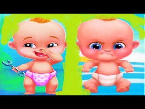 Smelly Baby | Play with Baby's farts | Baby Care Game For Kids