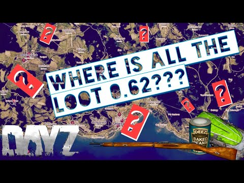 Where is All the LOOT in DayZ Standalone? ~ .62 Loot Location Guide