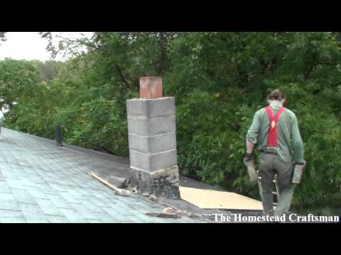 Tearing Down a Chimney