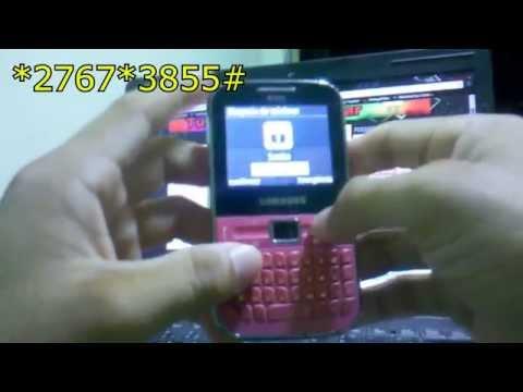 Hard Reset no Samsung GT-C3222 #UTICell