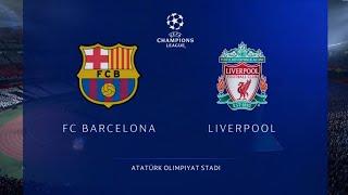 FIFA 20 | FC Barcelona vs Liverpool | UEFA Champions League Final