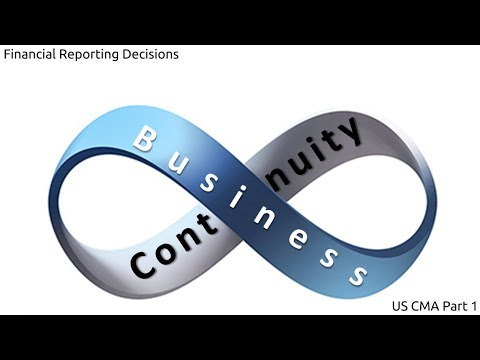 Business Continuity Plan | Cost Managment| US CMA Part 1| US CMA course