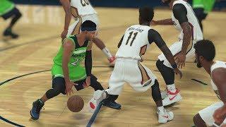 NBA 2K18 My Career - LaVar Talking BBB! 18 Dimes 2 Lobs! PS4 Pro 4K Gameplay