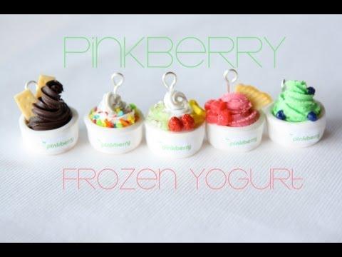Pinkberry Frozen Yogurt - Clay Ice Cream Tutorial