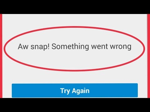 Fix Airtel TV Error    Aw snap! Something went wrong Problem Solve