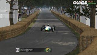 Virtual Goodwood Festival of Speed Hillclimb F1 Cars PART #1
