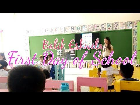 Balik Eskwela Kindergarten || FIRST DAY OF SCHOOL PHILIPPINES
