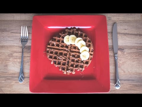 Chef Becky's Chocolate Chip Waffles with Nutella
